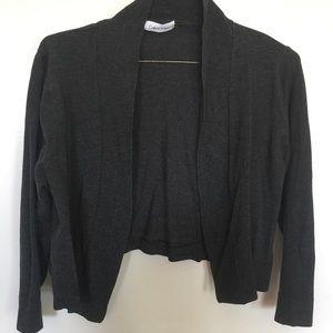 Dark gray cardigan